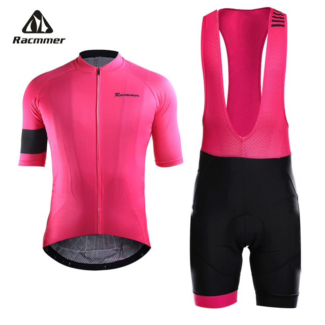 Racmmer 2018 Pro Summer Cycling Jersey Set Mountain Bike Clothing MTB  Bicycle Clothes Wear Maillot Ropa Ciclismo Mens 5 Colors 564f1b54e