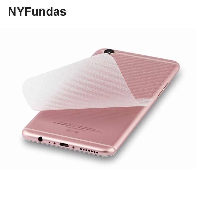 NYFundas 10 sztuk 3D z włókna węglowego telefon naklejka dekoracyjna dla Xiao mi czerwony mi 3 3 S 4X 4A 4 pro uwaga 4 3 2 mi 5 mi 6 mi 5 6 max 2