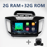 Quad core 2G+32G autoradio Car android Multimedia Player for Hyundai IX25 built in gps navigation music radio BT WIFI FM Map