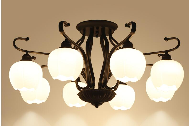 The American rural light bulb. Dining room personality glass lamps and lanterns