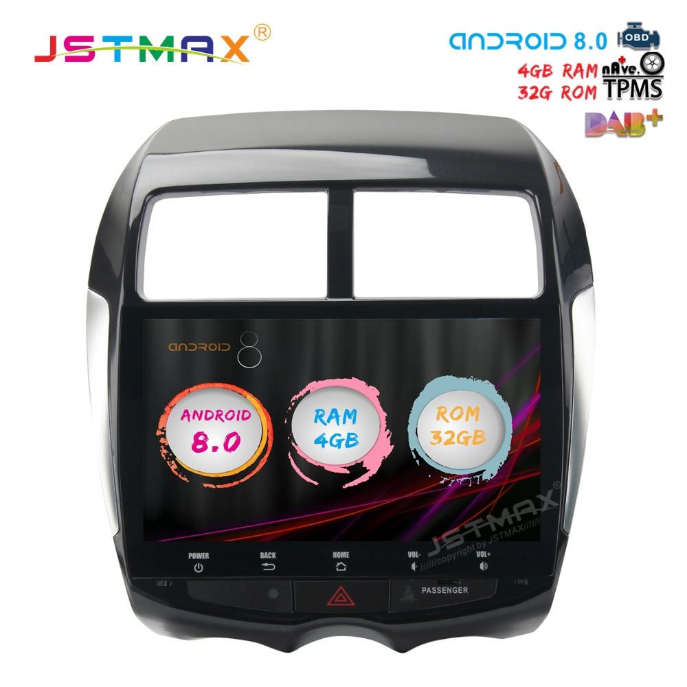 10 2 Android 8 0 Octa Core Car font b GPS b font Player for Mitsubishi