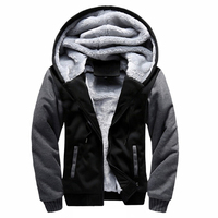 Winter Hoodies Sweatshirt Moletom Men S Causal Thick Fleece Baseball Uniform Sportswear Coats Men Patchwork Tracksuit