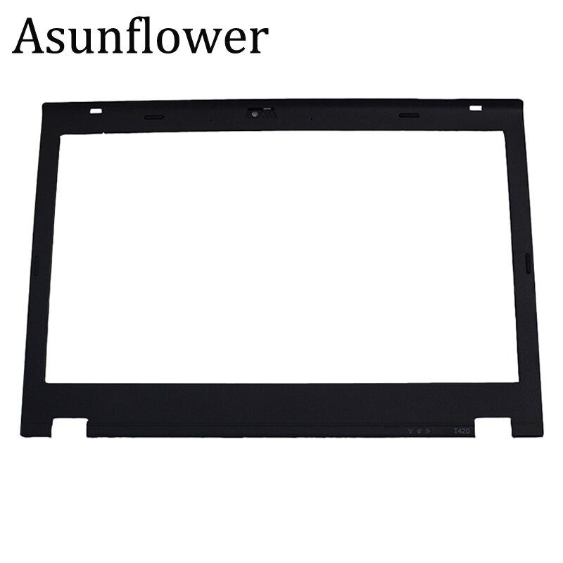 Asunflower New Laptop Front LCD Frame Bezel For Lenovo Thinkpad T420 Case Cover Shell For Lenovo T420 Bezel Screen Frame