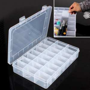 HOUSEEN Storage Box Plastic Case for Bead Jewelry Organizer