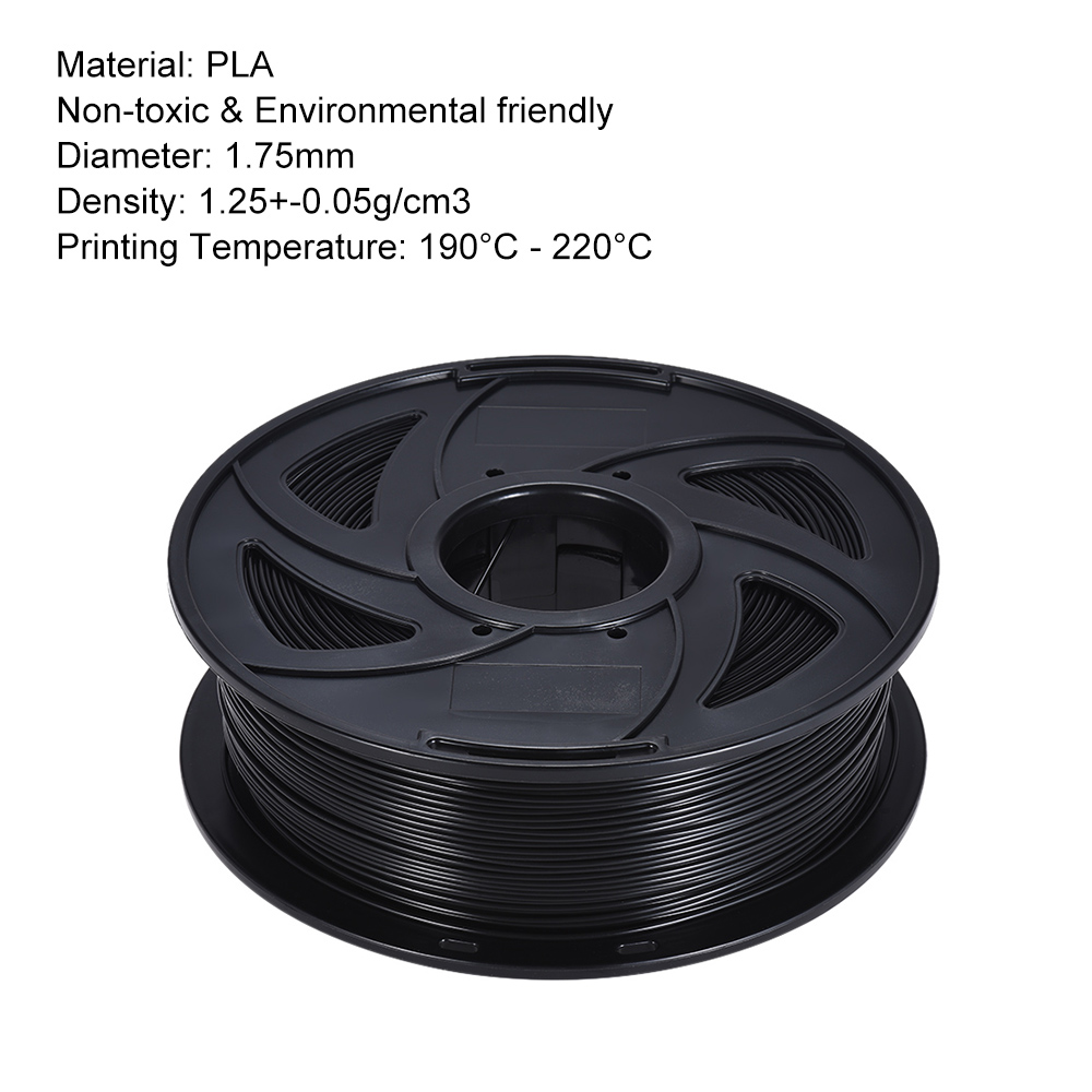 PLA Filament 1kg Roll1 75mm 3D Printer Filament for RepRap i3 3D Printer Machine Many Colors Optional US Warehouse Random Color in 3D Printing Materials from Computer Office