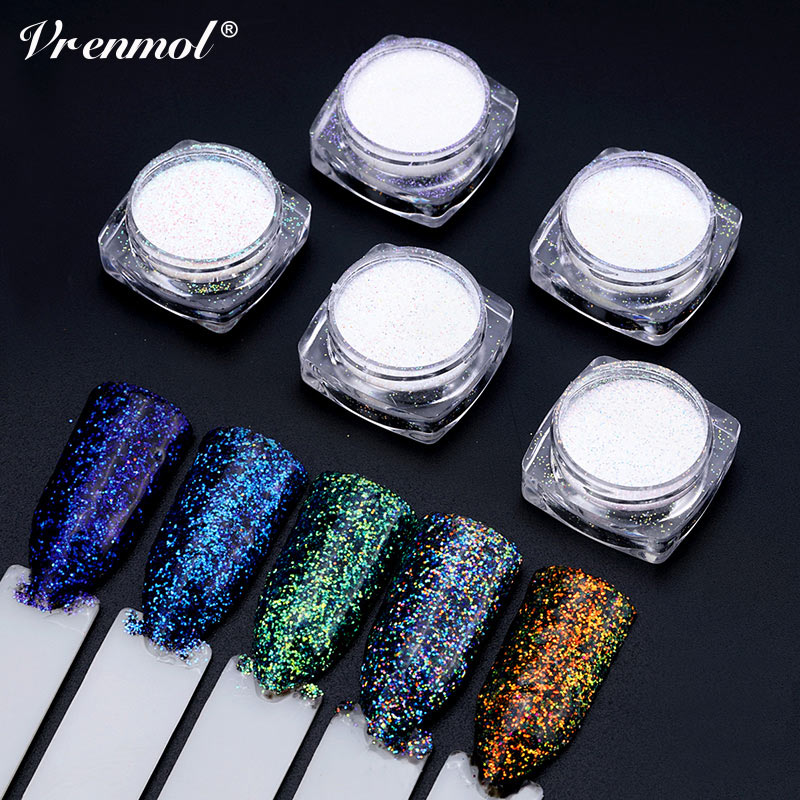 Avon Chrome Nail Powder: Aliexpress.com : Buy Vrenmol 2g Glitter Gel Nail Powder