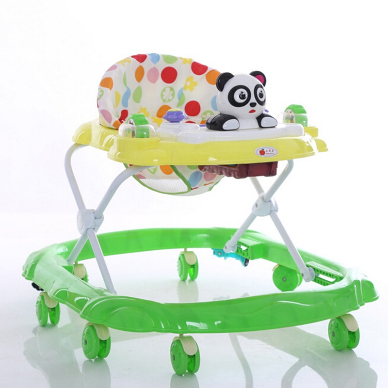 High Quality Baby Walker Adjustable Height Musical Baby