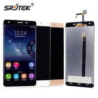 Srjtek For Oukitel K6000 Pro LCD Display Matrix Touch Screen Digitizer Full Assembly 5 5 1920x1080