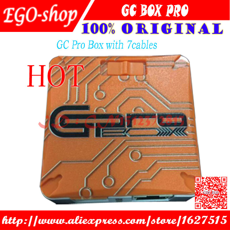 Gsmjustoncct Verison GC PRO GcPro Box avec 7 câbles Pour Samsung ZTE Huawei MTK CDMA