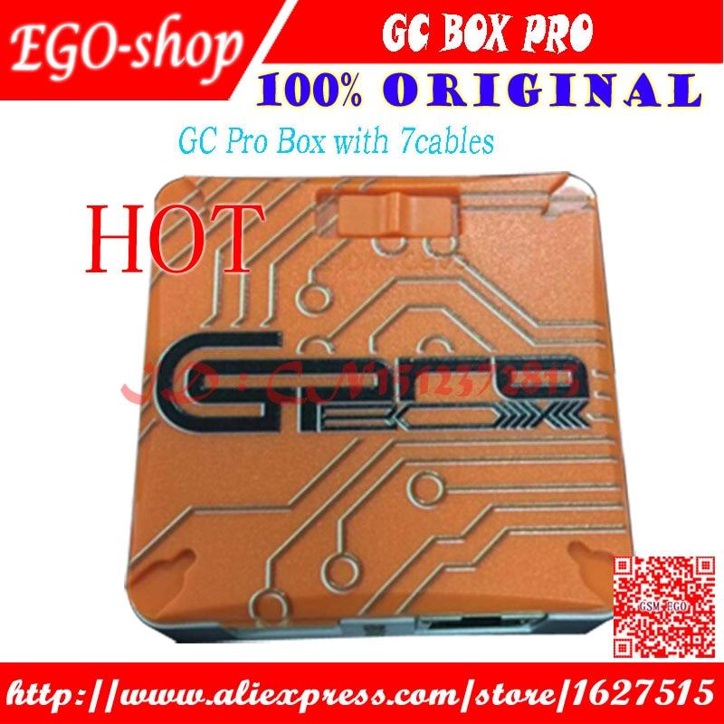Gsmjustoncct Verison GC PRO GcPro Box con 7 cavi Per Samsung ZTE Huawei MTK CDMA