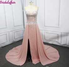 Elegant Prom Dresses Chiffon Long Evening Dress for robe de soiree long 2018 dress party formal dresses evening