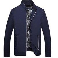 2016 new arrival spring autumn high quality pure color men's casual jacket,blue black Business jacket men,size M L,XL,2XL,3XL
