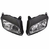 Motorcycle Headlight Headlamp Lamp Light Assembly For Honda CBR600RR CBR 600RR 2007 2012