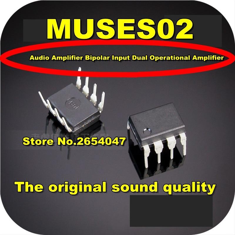 1PCS Original New MUSES02 DIP-8 Dual OP-amp, Free Shipping