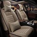 Qualidade Nota de Linho tampa de assento do carro Para Nissan Qashqai juke Murano Almera Teana Tiida Março X-trai acessórios do carro styling