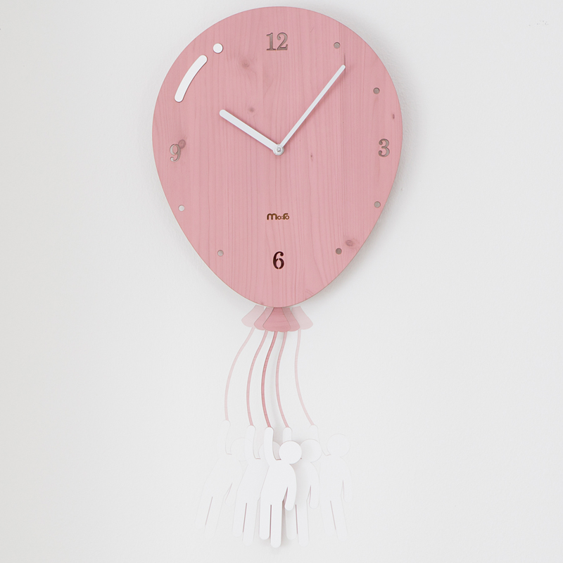 Swing Balloon Wall Clock