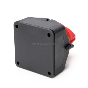 Image 4 - Universal Car Battery Isolator Master Cutoff Cut Off Power Kill Switch 12V/24V Waterproof Cover Switch for Car Truck Boat Auto