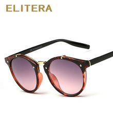 ELITERA Sunglasses Women Vintage Retro Round Sun Glasses Female Brand Designer Sunglass Unisex New Lentes De Sol Masculino