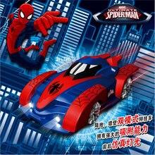 Wall Climber Spiderman RC Race Car