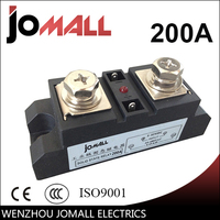 SSR 200A Industrial SSR Single Phase Solid State Relay 200A Input 3 32VDC Output 440AC