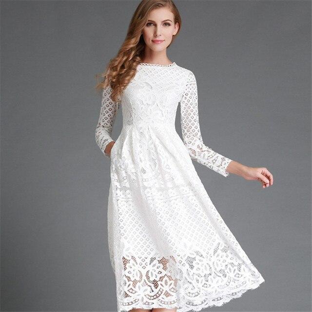 Bellflower 2017 dress mujeres negro blanco alta wiast dress hollow fuera larga dress femme sexy vestidos de partido delgado vestido plus tamaño