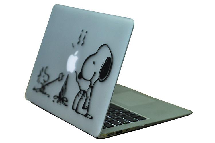 Protective Cover Matte Hard Case Cute Cartoon Design Carry Shell Coque for Macbook Air 11 13 quot Pro 12 quot 15 quot A1932 A1278 A1466 in Laptop Bags amp Cases from Computer amp Office