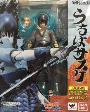Naruto Shippuden Uchiha Sasuke PVC Action Figure Toy