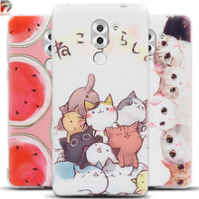 For Huawei Honor 6X Case 5.5 inch 3D Fruit Landscape Silicone Soft TPU Phone Back Cover for Huawei GR5 2017 Case BLL-L21 Cases
