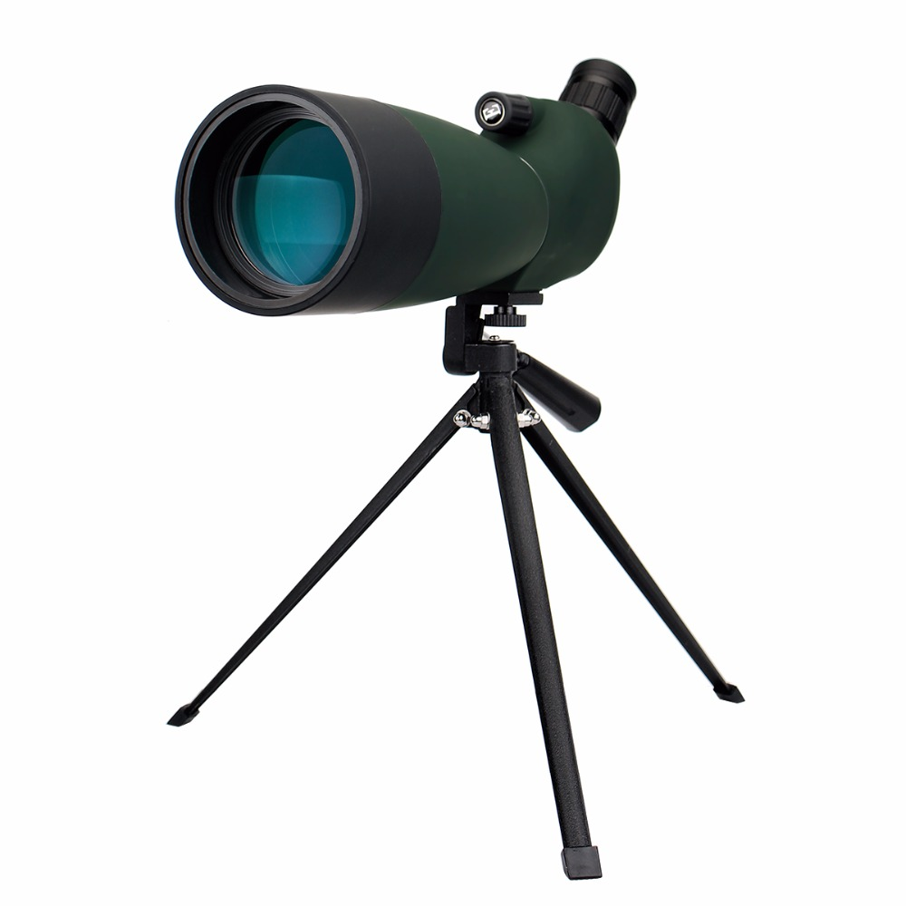 SVBONY 25-75x70mm Spotting Scope SV28 Telescope Continuous Zoom BK7 Prism MC Lens Waterproof Hunting Monocular +Tripod F9308B
