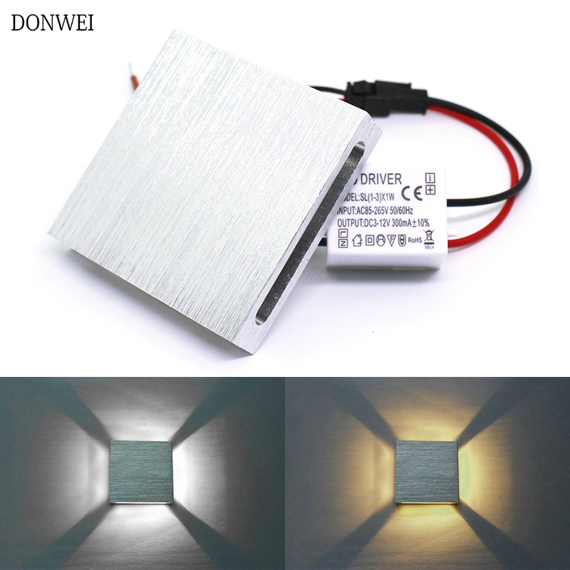 Led Lamps Competent Donwei High Quality Modern Indoor 3w Led Wall Lamp Ac110v/220v Material Aluminum Sconce Bedroom Decorate Ktv Bar Wall Light Selected Material