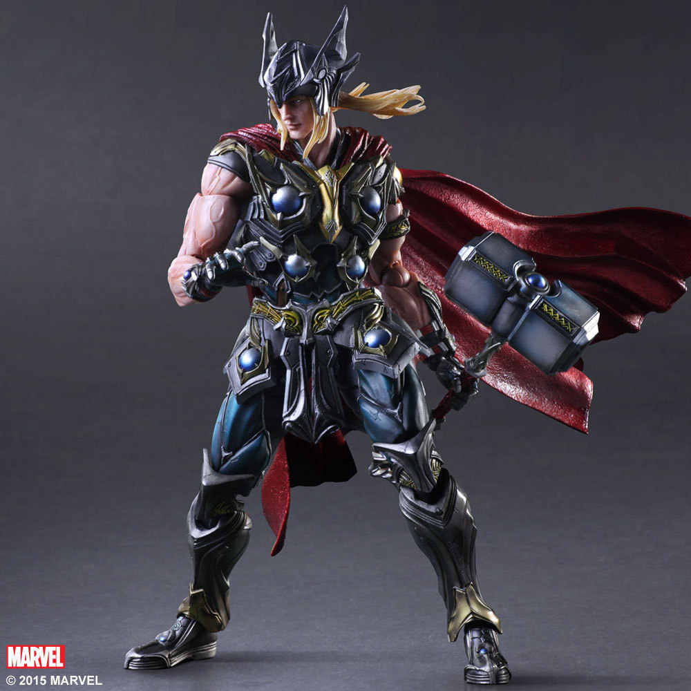 Arts jogar 27 cm Vingadores Thor Da Marvel Super Hero Action Figure Toys
