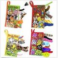4Patterns Animal Style Baby Toys Hot New Infant Kids Early Development Cloth Books Learning Education Unfolding Activity Books