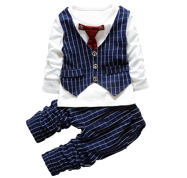 1 2 3 4 Years Tie Wedding Suits For Baby Boys Clothes Boy Birthday Dress
