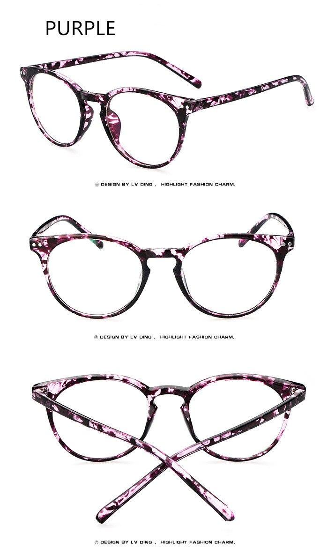 52aeabf556b 2019 2017 Fashion Big Glasses Frame Men Women Retro Vintage ...
