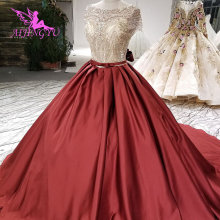 AIJINGYU Asian Wedding Dresses Gown With Long Sleeves