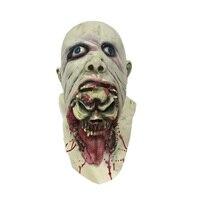 Gnicie Lateks straszne Zombie Maska Horror Straszny Vampire Demon Duch Całą Twarz Twarzy Maski Halloween Home Dekoracje Świąteczne Rekwizyty