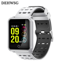 Smart Band N88 IP68 Waterproof Wrist Band Color Screen Blood Pressure Monitor Message Call Reminder For