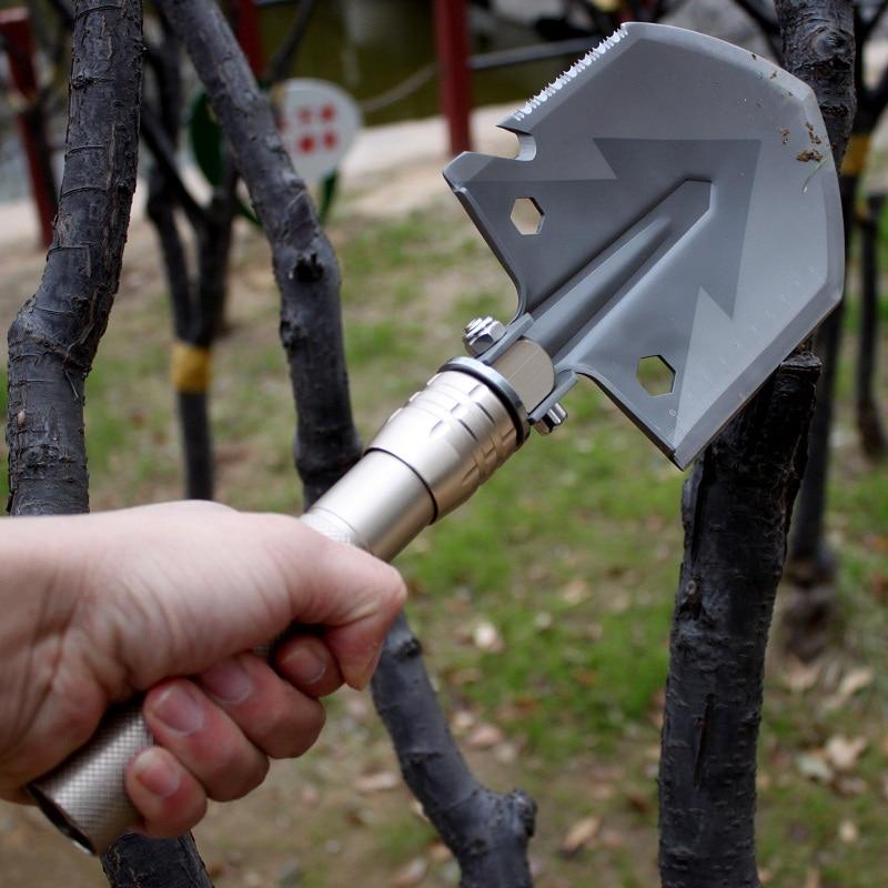 Mitme kämpimisega kühvlid ellujäämisriistad multifunktsionaalsed - Aiatööriistad - Foto 6
