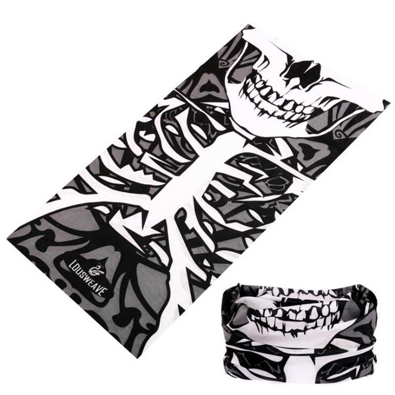 Summer Motorcycle Headscarf Bandana Cycling Face Mask Tube Scarf Neck Gaiter Fishing Kaffiyeh Seamless Headbands For Female Men