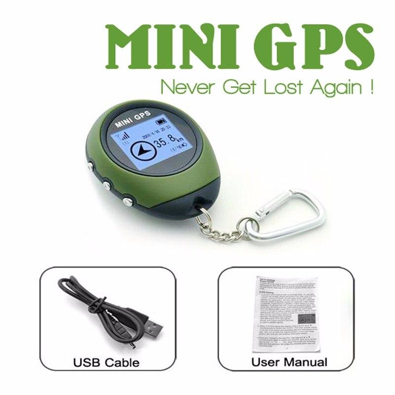 Водонепроницаемый 1.4 Экран мини GPS навигация Путешествия Отдых Открытый Спорт Путешествия ресивер Дорожные наборы с fcc/ce/rohs 65*53*21 мм
