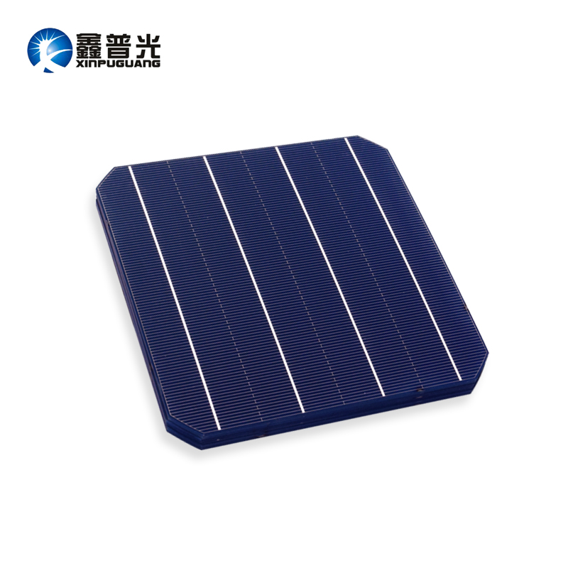 XINPUGUANG 45PCS 4.8w mono cell 156*156MM PV Photovoltaic monocrystalline Silicon DIY 200w solar panel 0.5v Grade A efficient
