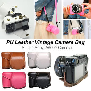 Pouch Case Cover-Bag Protective A6300-Camera Sony A6000 Vintage for High-Quality New-Arrival