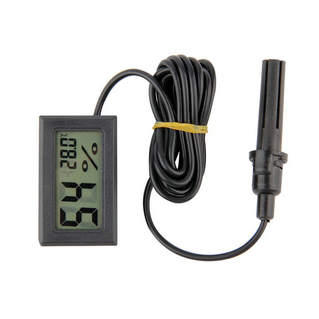 Professionelle Mini Digital LCD Thermometer Hygrometer Feuchtigkeit ...
