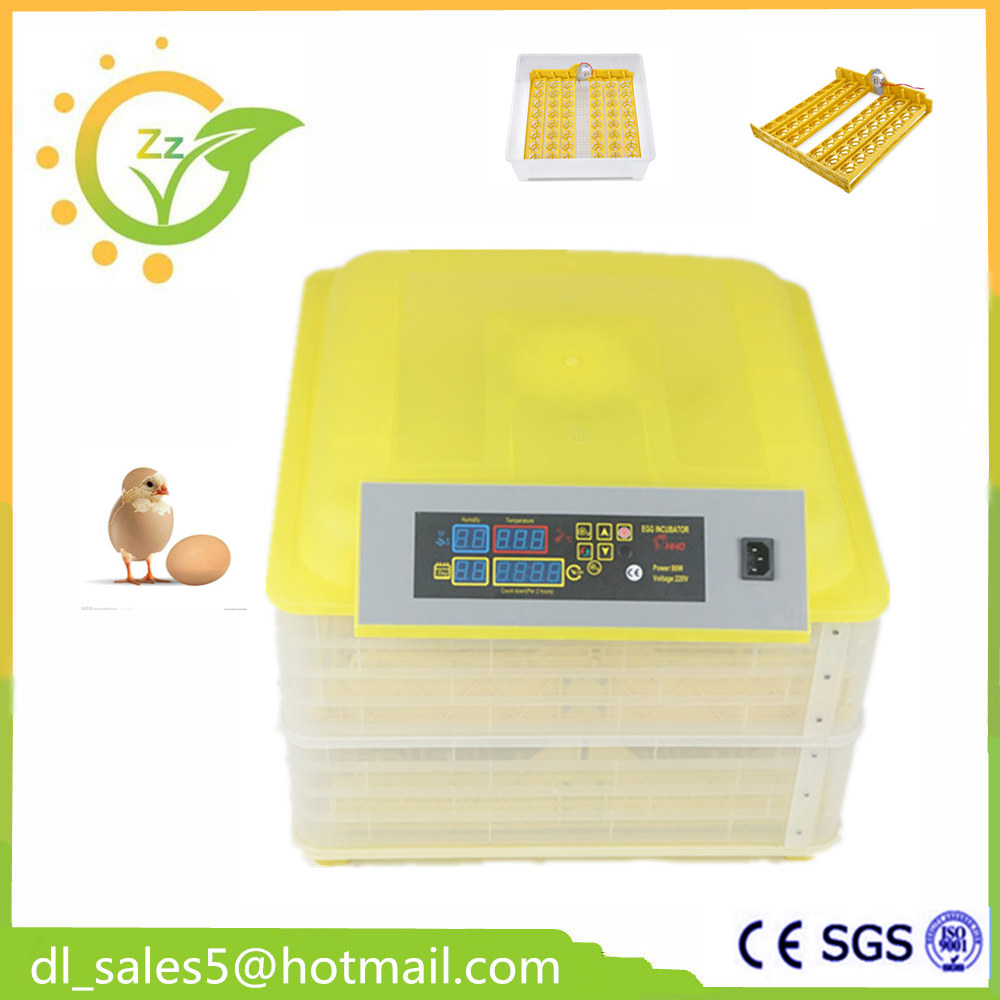 Mini Fully Automatic Egg Incubator Turning 96 Eggs Poultry Chicken Duck Bird Hatcher New Chicken Egg Incubator Hatching Machine fully automatical turning 48 eggs incubator poultry chicken duck egg hatching hatcher new modle transparent bottom