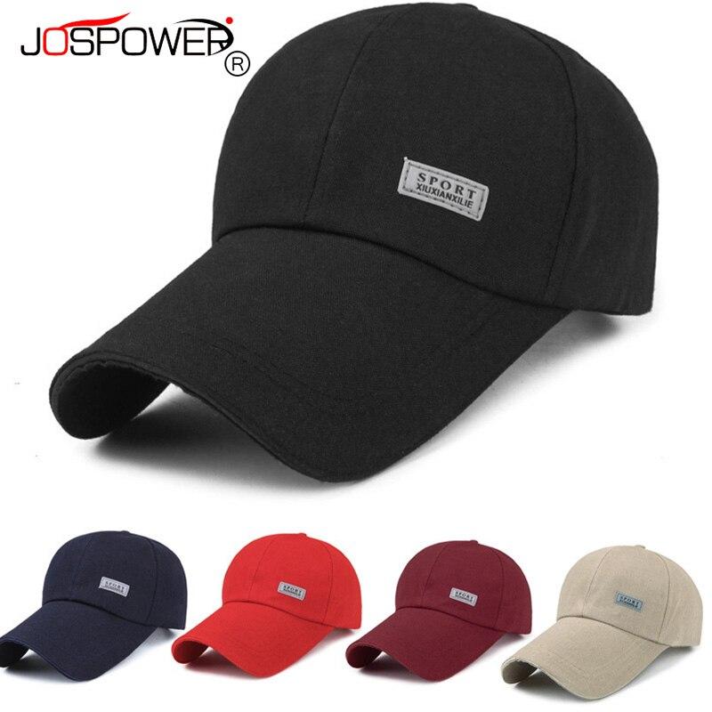 JOSPOWER New Sport Sunscreen Hat Summer Casquette Mens Traveling Baseball  Caps Male Adjustable Hats Head Accessory 006261a3131