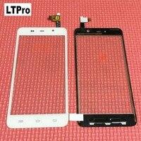 LTPro Negro/Blanco pantalla táctil digitalizador del sensor de cristal de Alta calidad de trabajo Para THL W200 W200S W200C reparación de teléfonos partes