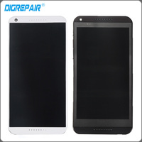 Black For HTC Desire 816 816W D816x LCD Display Touch Panel Screen Digitizer With Frame Full