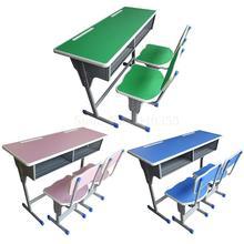 Парты и стулья для детей в начальной и средней школе, Парта, консультационный класс, учебный стол, обучающий стол, Прямая с фабрики