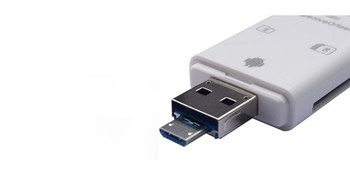 iFlash Drive USB Micro SD/TF SDHC Card Reader Adapter for iPhone 11 X  iPad 6 7 8  pro11