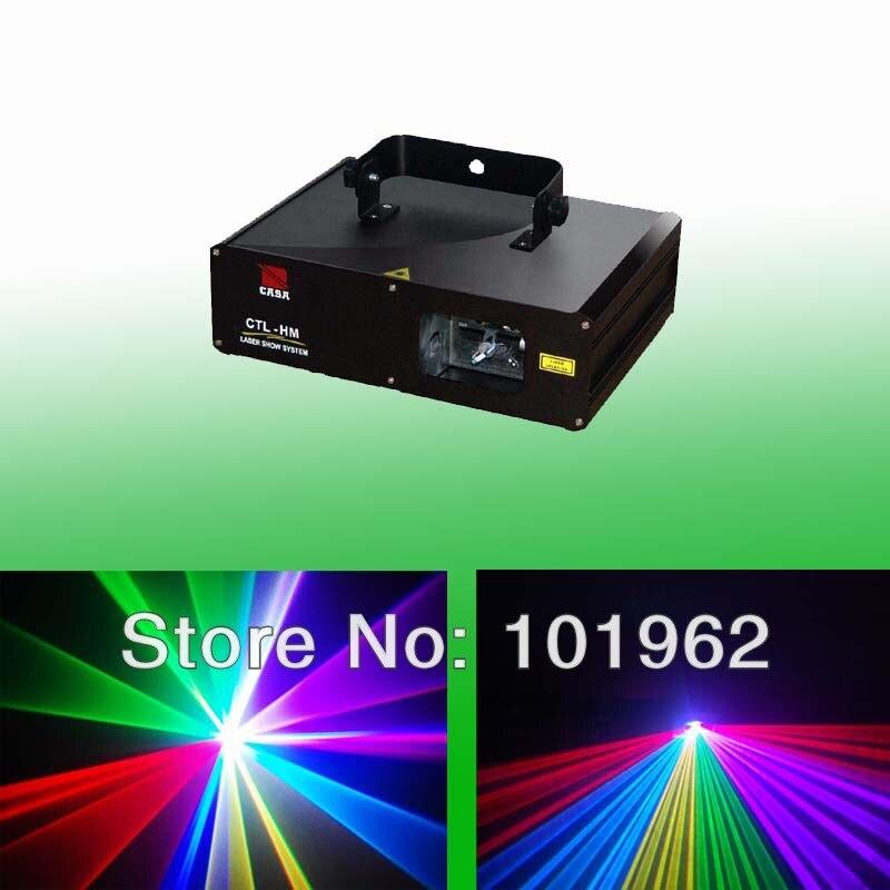 High Capacity 600mW RGB RGB 3 Color Laser Show System Dj Disco Lighting Lights Model (CTL-HM)